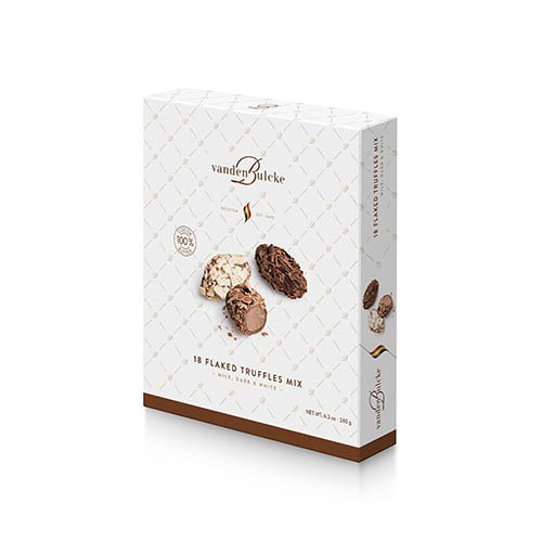 Truffels mix melkchcolade, witte chocolade | Vandenbulcke shop online