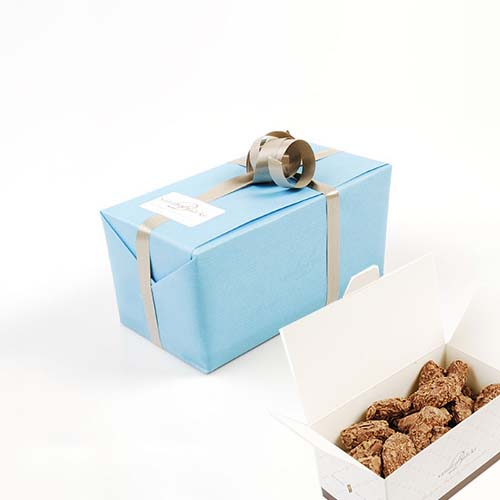 Ballotins wrapped in giftpaper - truffles