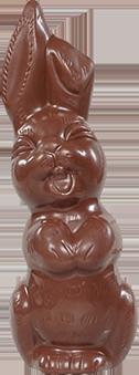 Paashaas in melkchocolade - 200 g
